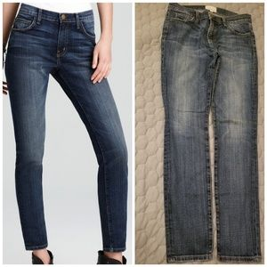 "Current Elliott Women ""The ankle skinny loved"" blu"